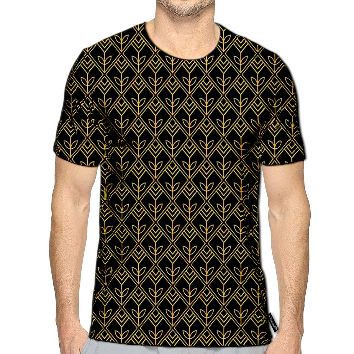 3D Printed T-Shirts Cute Retro Atomic 1950S Mid Century Vintage Short Sleeve Top