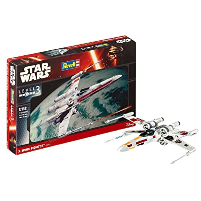 Revell 03601 Star Wars, X-Wing Fighter: Toys & Games [5Bkhe0706003]