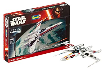Revell- Star Wars X-Wing Fighter, Kit modeles. Escala 1:112 (03601)