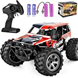Remote Control Car, TREYWELL RC Cars Remote Control Truck, 2.4GHZ 1:18 Fast Racing Monster Car, Off Road Radio rc Cars for Bo