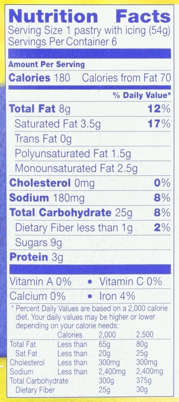 Pillsbury, Toaster Strudel Pastries, Cream Cheese & Strawberry, 11.5 oz (Frozen): Amazon.com: Grocery & Gourmet Food