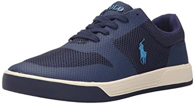 Polo Ralph Lauren Men\u0027s Hellidon-S Fashion Sneaker, Newport Navy, ...