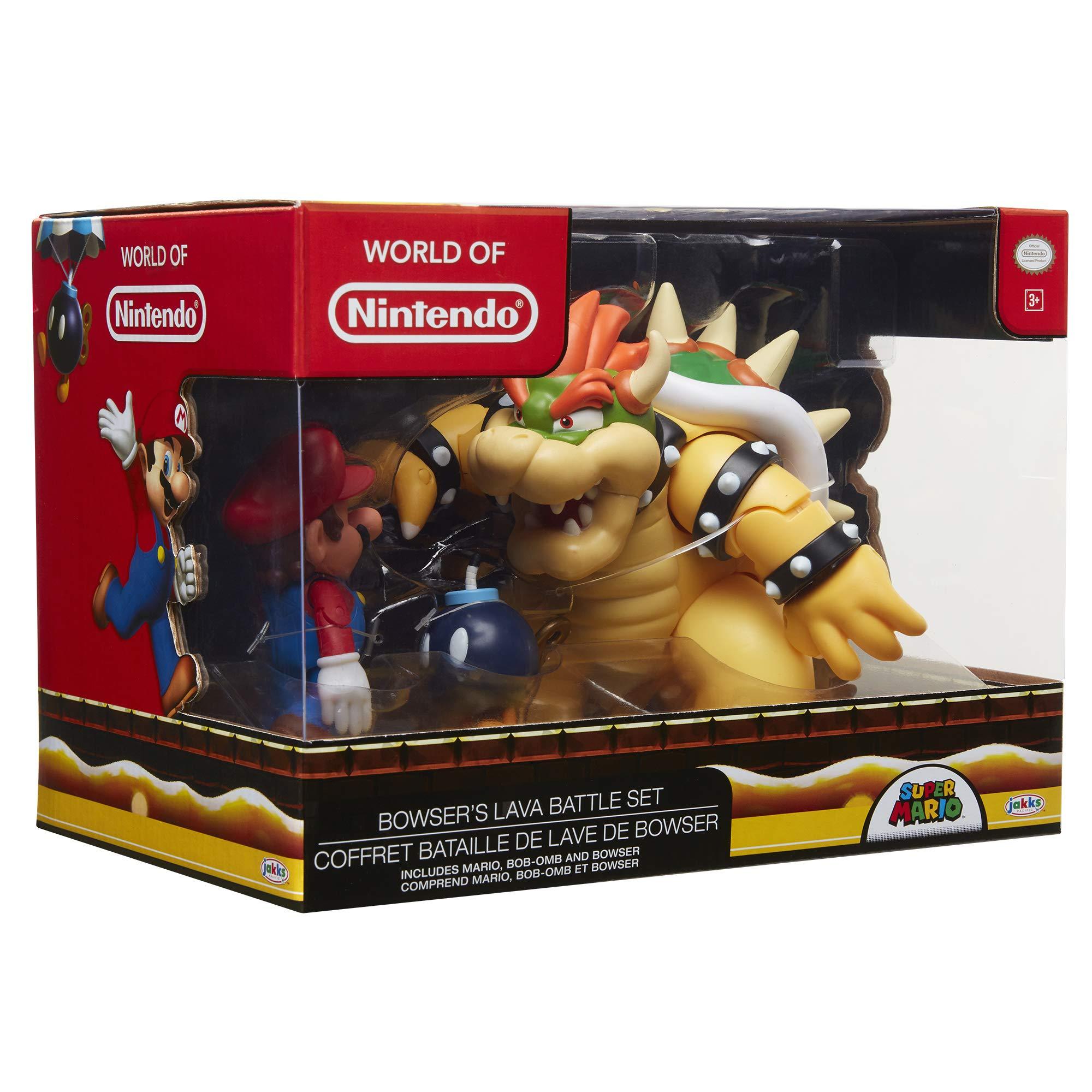 Nintendo Super Mario Bowser Vs Mario Diorama Figure 3 Pack by Nintendo (Image #6)