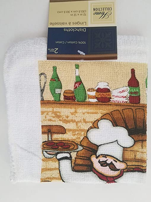 Items Select Kitchen Dining Linen Pizza Chef Theme