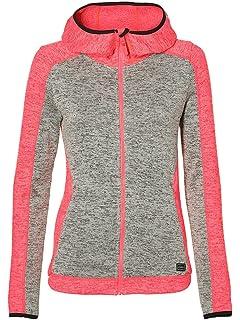 aef1ce78dbd65 O'Neill Women's Piste Baffle Fleece Hoodie: Amazon.co.uk: Clothing