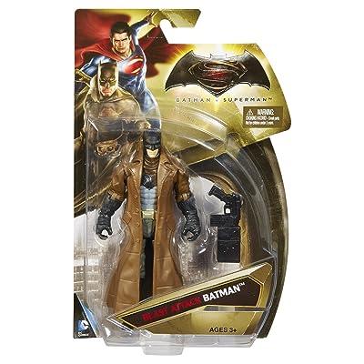 Batman v Superman: Dawn of Justice, Blast Attack Batman, 6 Inch Action Figure: Toys & Games