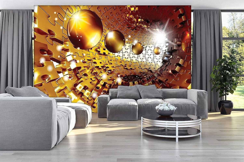 Forwall Fototapete Fototapete Fototapete Vlies Wanddeko Tunnel 3D – Moderne Wanddekoration 10419VEXXXL 416cm x 254cm B07NNY25LP Wandtattoos & Wandbilder 8fe565