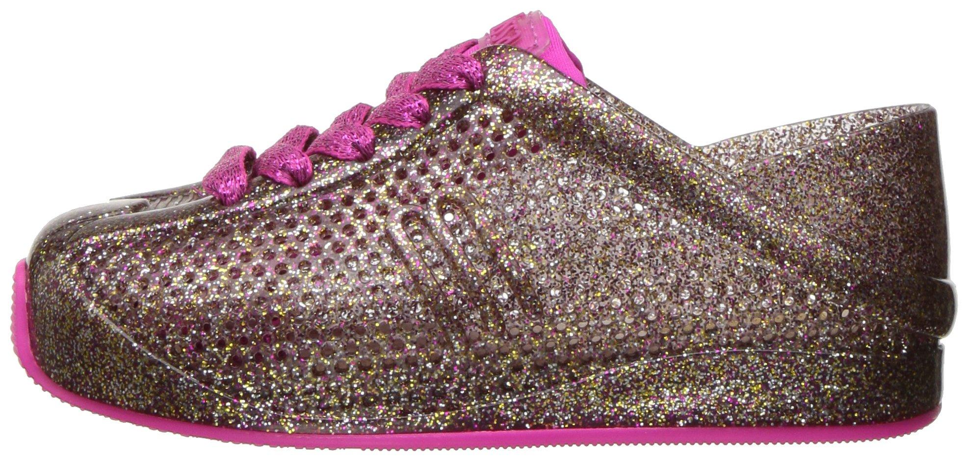Mini Melissa Kids' Mini Love System Sneaker,Glass Pink Glitter,10 Regular US Toddler by Mini Melissa (Image #5)