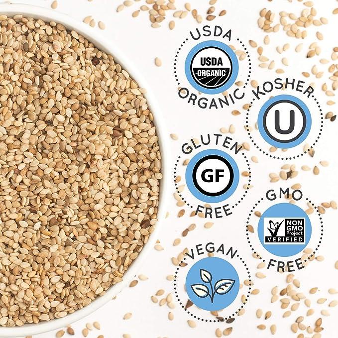 Hope & Sesame - Leche de sésamo orgánica variada, 1 litro ...