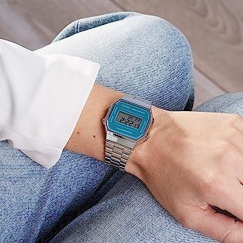 Casio Smart Watch Armbanduhr A168WEM-2EF: Amazon.es: Relojes
