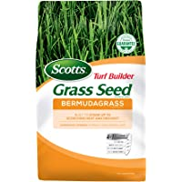 Scotts Turf Builder Grass Seed Bermudagrass - 1 lb, Use in Full Sun, High Drought Resistance, Seed New Lawn or Overseed Existing Lawn, Seeds up to 1,000 sq. ft.