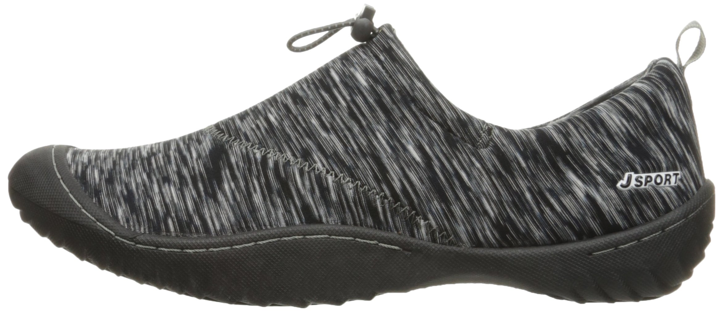 JSport by Jambu Women's Clare Walking Shoe, Black/Multi, 7 M US by JSport by Jambu (Image #5)