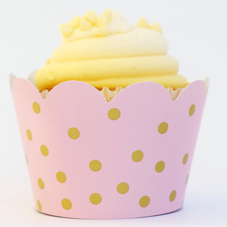Lot De 12 Pastel Lilas Cupcake Cake cas Wrappers Décoration Anniversaire Baby Shower