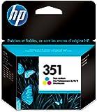 HP Cartouche Jet d' Encre Originale N° 351 CB337EE 3,5 ml Tri color