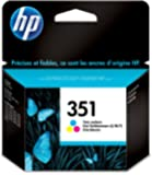 HP 351 - Cartucho de tinta Original HP 351 Tricolor para HP DeskJet , HP OfficeJet, HP PhotoSmart