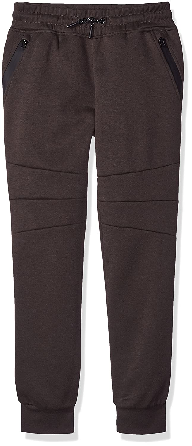 Southpole Boys' Big Tech Fleece Jogger Pants with Zipper Details