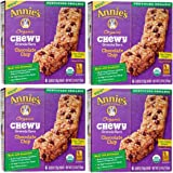 Annie's Organic Chewy Chocolate Chip Granola Bars 6 ct (Pack of 4)