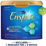 Enfamil 美赞臣 Enspire 蓝臻 1段 0-12个月 婴幼儿配方奶粉 2905g混合包装 (581g*1罐+ 1162g*2盒)