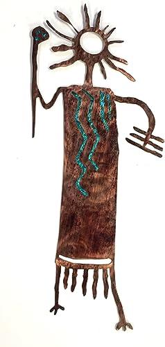 7055 Inc. Southwest Petroglyphs – Ted, Teal