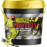 Colossal Labs 100% Whey Protein Powder Isolate/Blend | Fast-Absorbing Workout Supplements for Men and Women | 25g of…