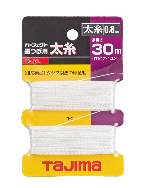 Tajima Repuesto de cuerda para Ink de Rite tiralí neas dispositivo 0,8 mm x 30 m, 1 pieza, Taj de 54333 8mm x 30m 1pieza PSITOL