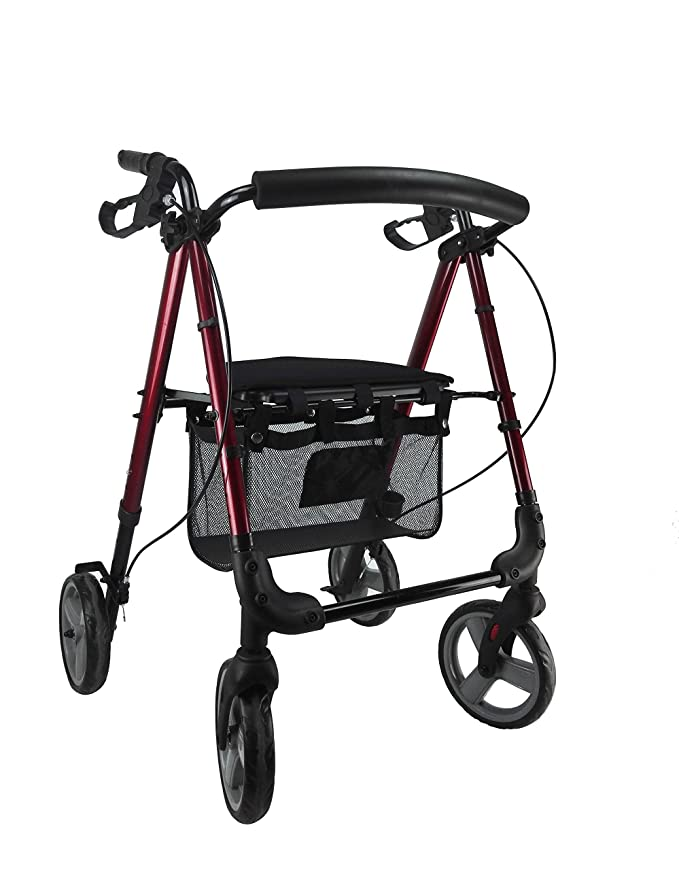 NOVEDAD | ANDADOR PREMIUM CON FRENO MANUAL TIPO BICI: Amazon ...