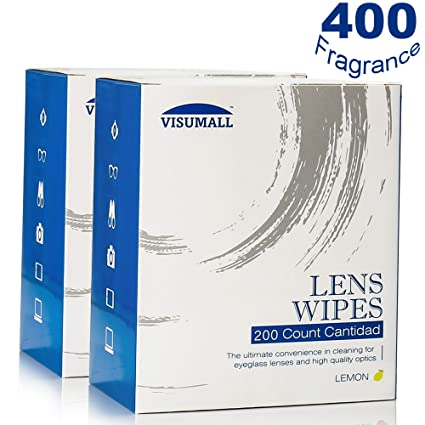 miduxian 400 lente toallitas – prehumedecidas toallitas de limpieza Limpiador portátil de viaje con luz Fragancia