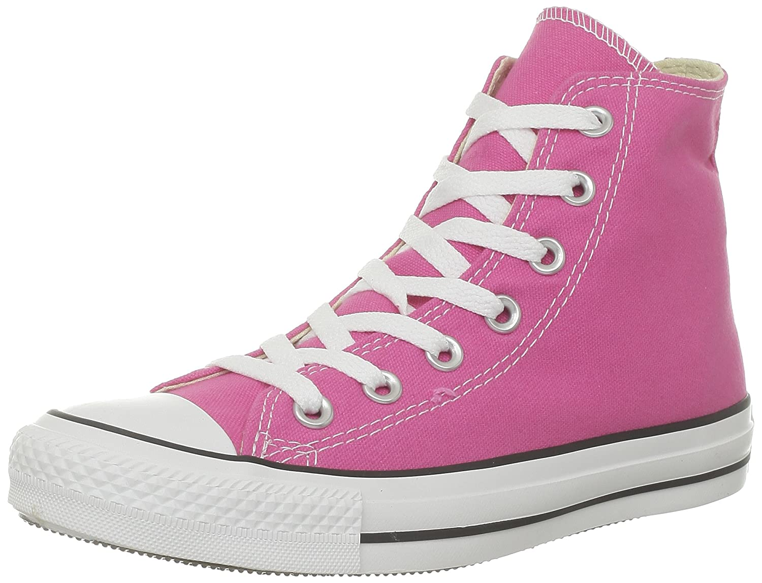 Converse Unisex Chuck Taylor All Star High Top B00GXABT3S 9.5 F(M) UK|Pink