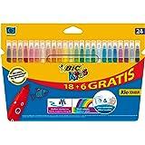 BIC 841803 - Pack de 24 rotuladores, multicolor