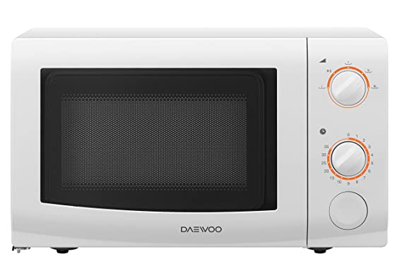 Daewoo KOR6l37 - Microondas, 700 W, 20 l, blanco: Amazon.es: Hogar
