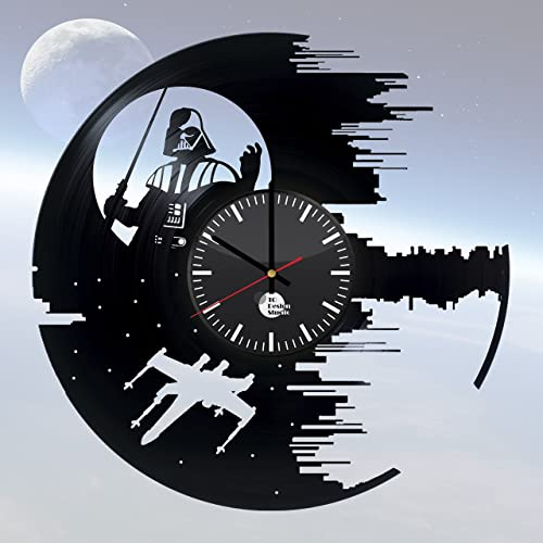 adbb0361a Movie Vinyl Record Wall Clock - Get unique kitchen wall decor - Gift ideas  for friends - Unique movie art design - Leave us a feedback and win your  custom ...