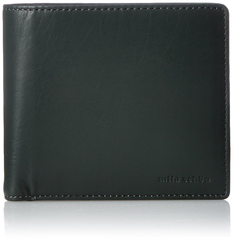 [ミラショーン] 二つ折り財布 MSMW7JS2 B073RCDW12 グリーン グリーン