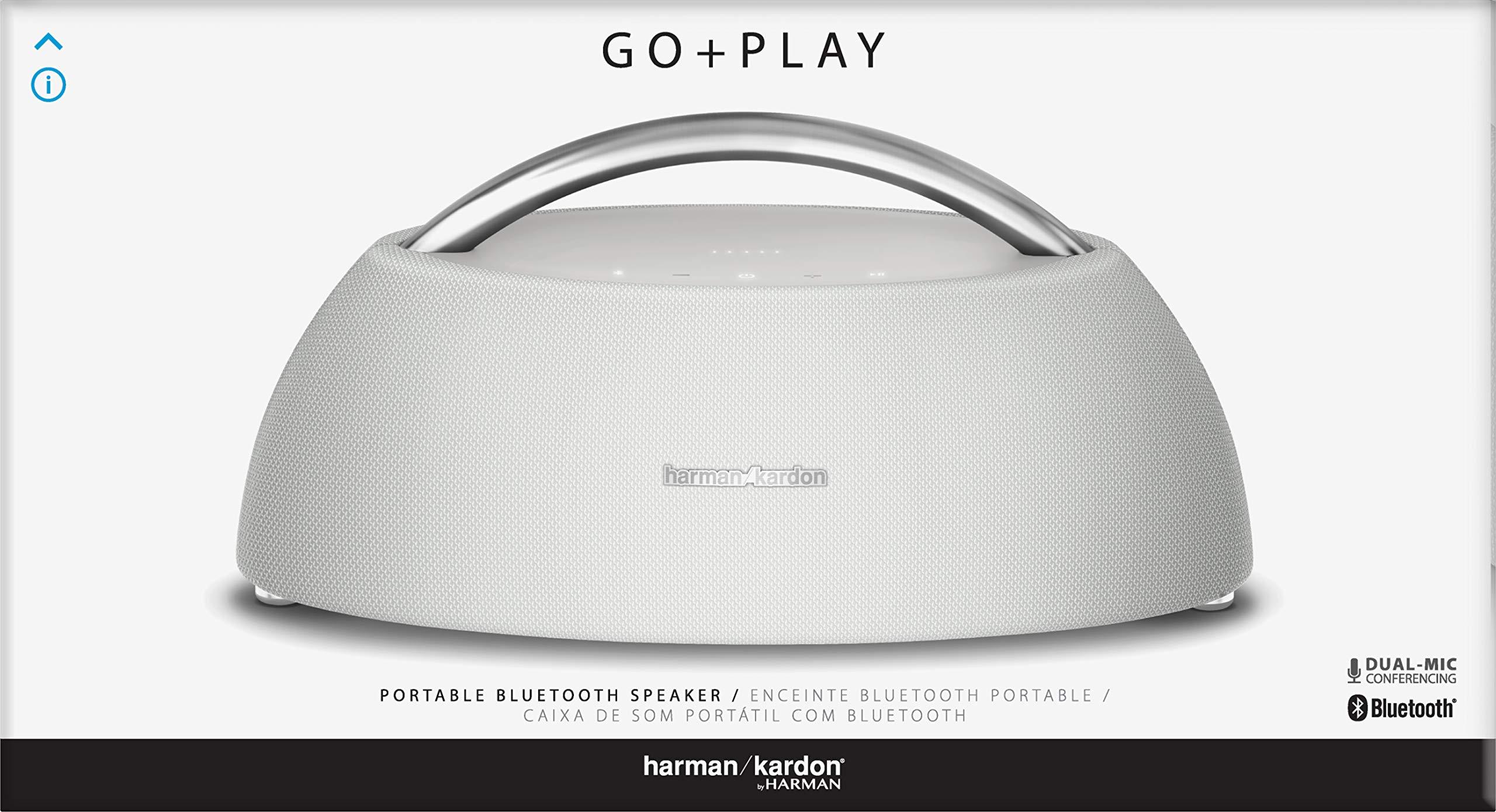 Harman Kardon Go+Play Mini Portable Bluetooth Player (White