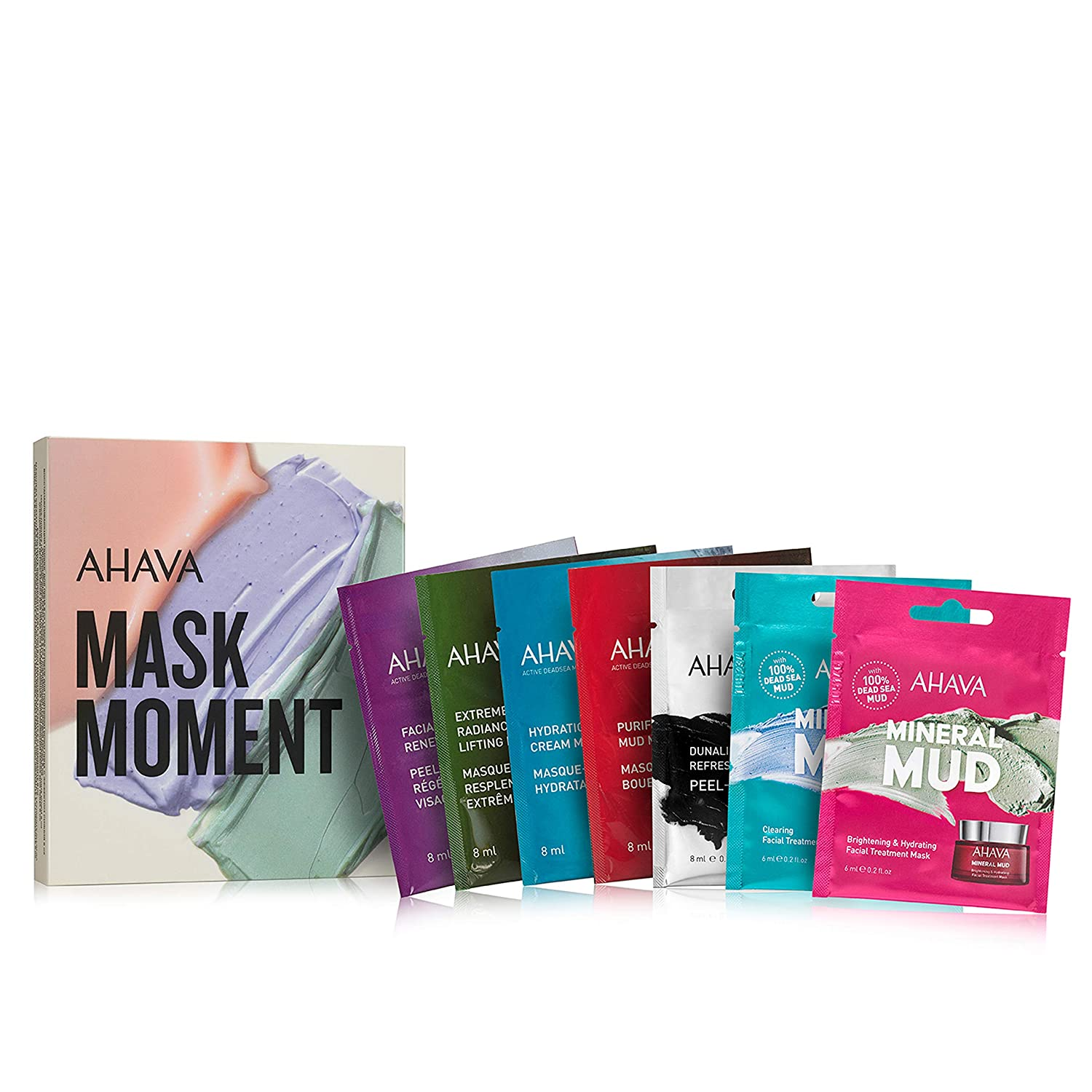 AHAVA Dead Sea Mud Facial Masks Set For All Skin Types