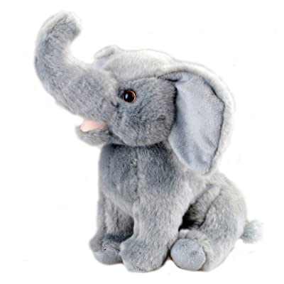 Bo-Toys Cute Plush Elephant Stuffed Animal 10 inches: Toys & Games