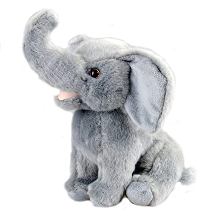 Amazon Com Cute Plush Elephant Stuffed Animal 10 Inches By Bo Toys