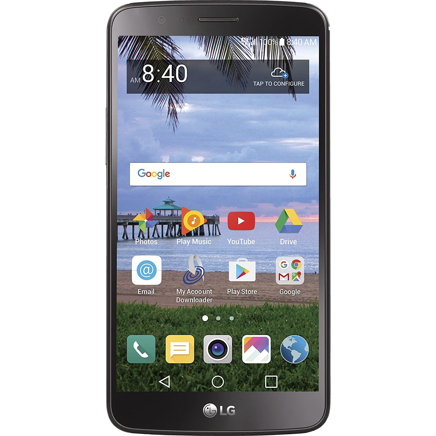 Simple Mobile LG Stylo 3 4G LTE Prepaid Smartphone - Certified Preowned