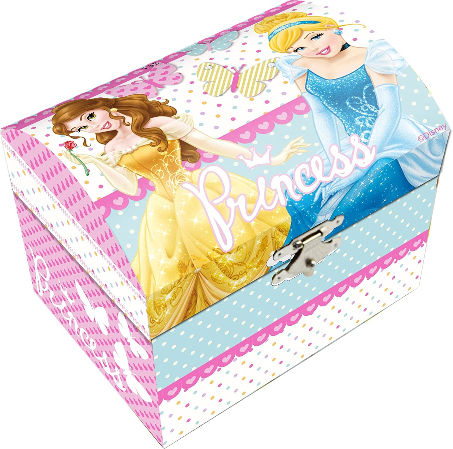 Made in Trade Boite à Bijoux Musicale Princess, WD90019 KIDS EUROSWAN