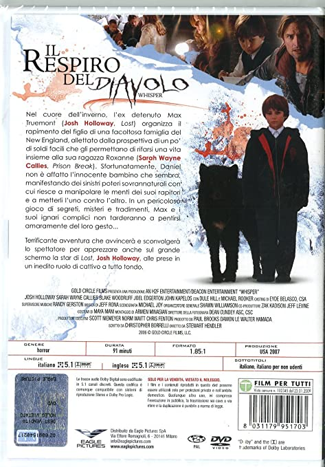 finest selection delicate colors new arrivals il respiro del diavolo - whisper tombstone DVD Italian ...