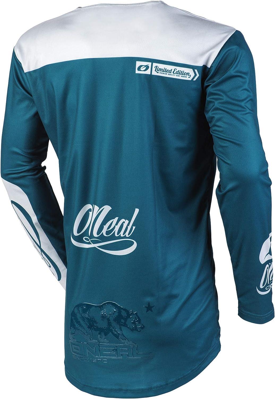 Blue//Gray, S ONeal M001-002  Mayhem Reseda Adult Jersey