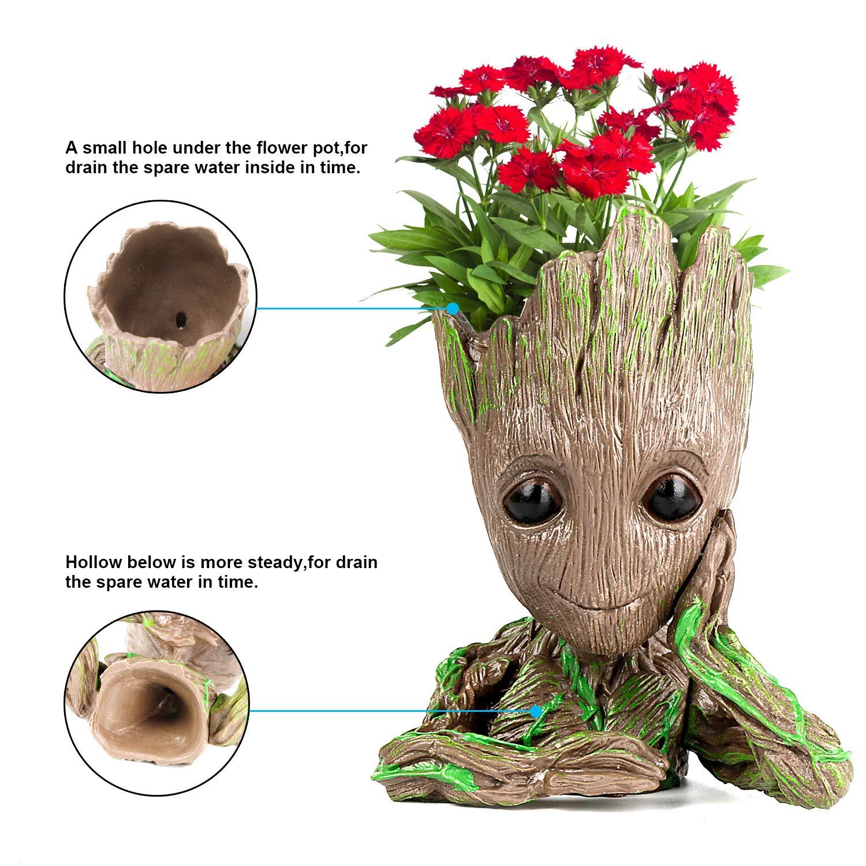 Amazon.com: Groot maceta Groot maceta de flores para bebé ...