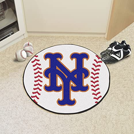 d34f95f8acf3f Image Unavailable. Image not available for. Color  StarSun Depot Baseball  Mat MLB - New York Mets ...