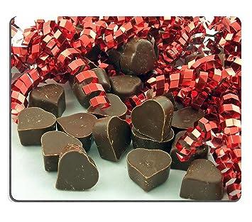 luxlady Gaming Mousepad de corazón de bombones de leche y lazo rojo imagen ID 748208: Amazon.es: Oficina y papelería