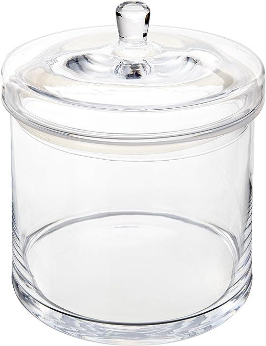 031304 H/öhe 17,2 cm Leonardo Dose Top Durchmesser 14,7 cm 1,5 l handgefertigtes Klarglas