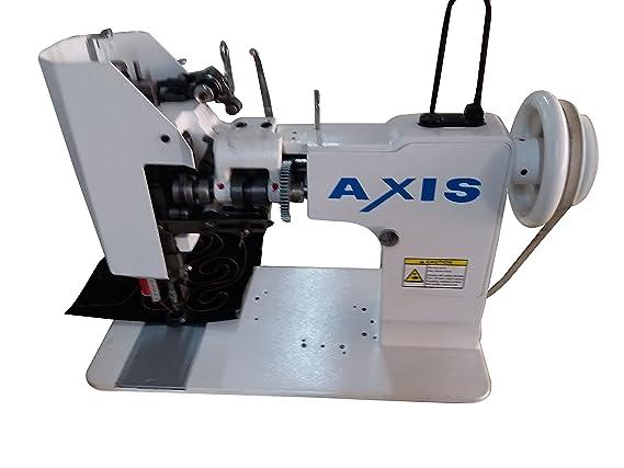 Axis 121 irlandés bordado máquina mismo como Cornely Super Rare máquina de coser Universal de alta velocidad alimentación Zig Zag couching y recta de punto ...