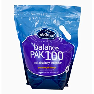 BioGuard Balance Pak 100 (12 lb) (1) : Swimming Pool Chemicals And Supplies : Garden & Outdoor