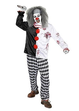 Killer Clown Kostum Von Ilovefancydress Erhaltbar In