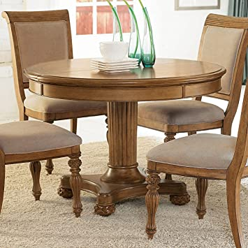 American Drew Grand Isle Round Dining Table In Amber Finish Part 93