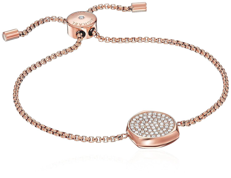 2e0653fa510ea Amazon.com  Michael Kors Beyond Brilliant Rose Gold-Tone Bangle Bracelet   Jewelry
