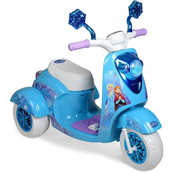 Amazon.com: Frozen 3 Rueda Ride On Scooter eléctrico: Toys ...